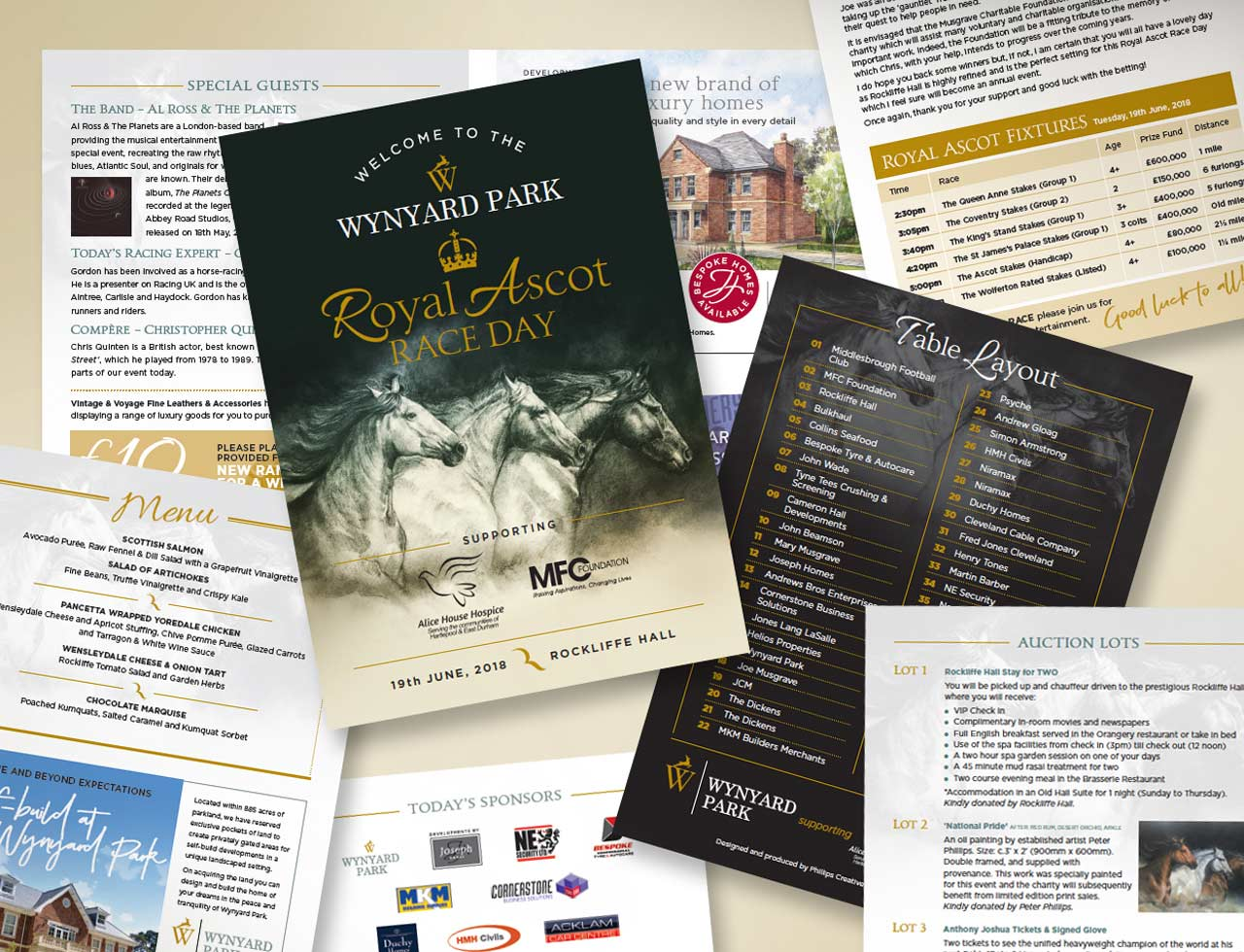 the Royal Ascot event programme