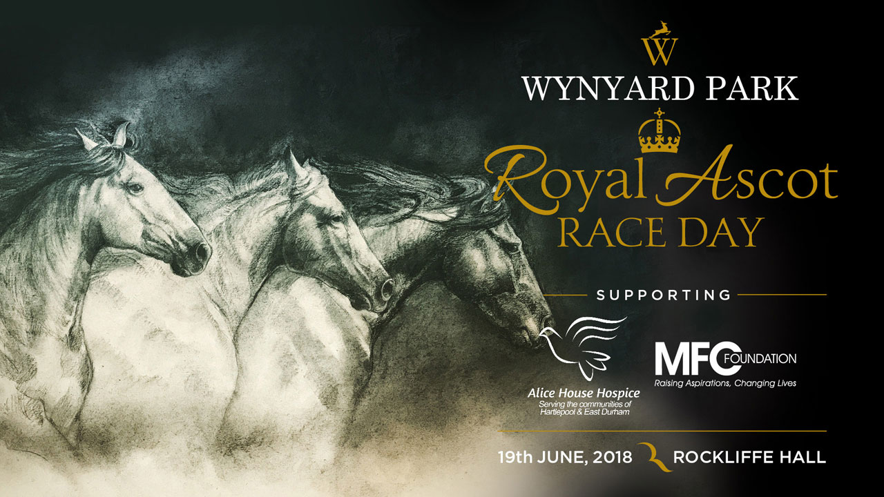 the Royal Ascot promotional banner