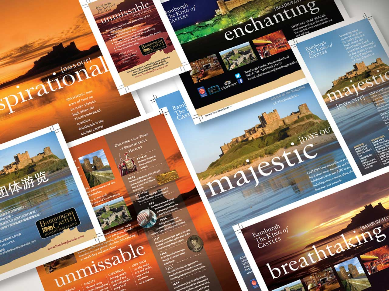 bamburgh castle marketing project