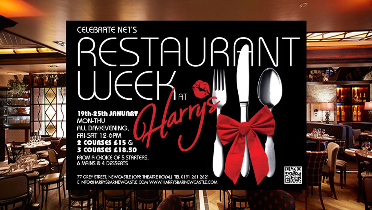 Harry's restaurant week promotion