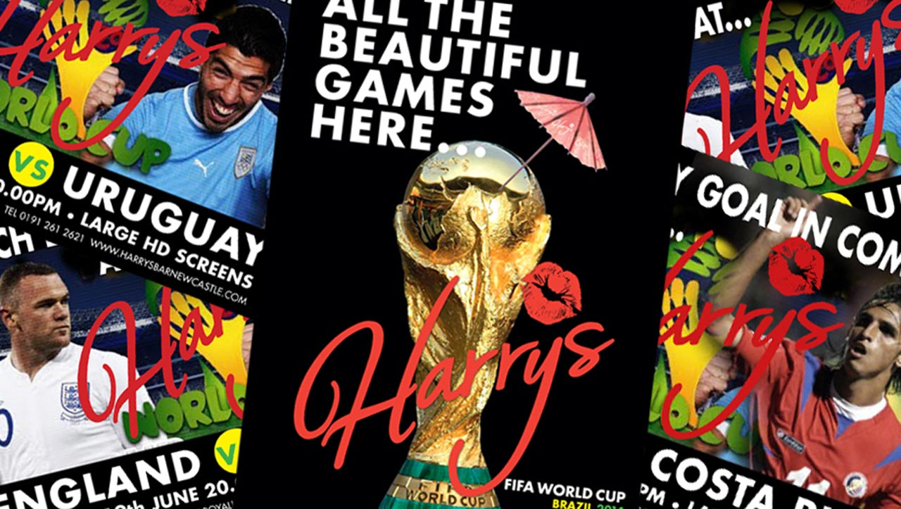 World Cup 2018 promotional flyers