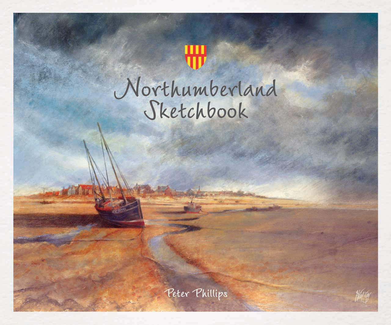 'Northumberland Sketchbook' cover
