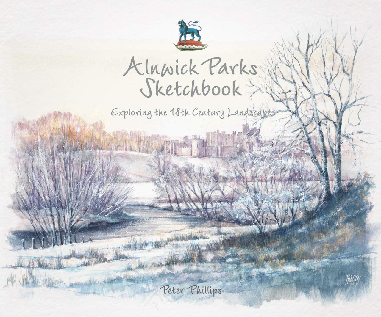 'Alnwick Parks' sketchbook cover