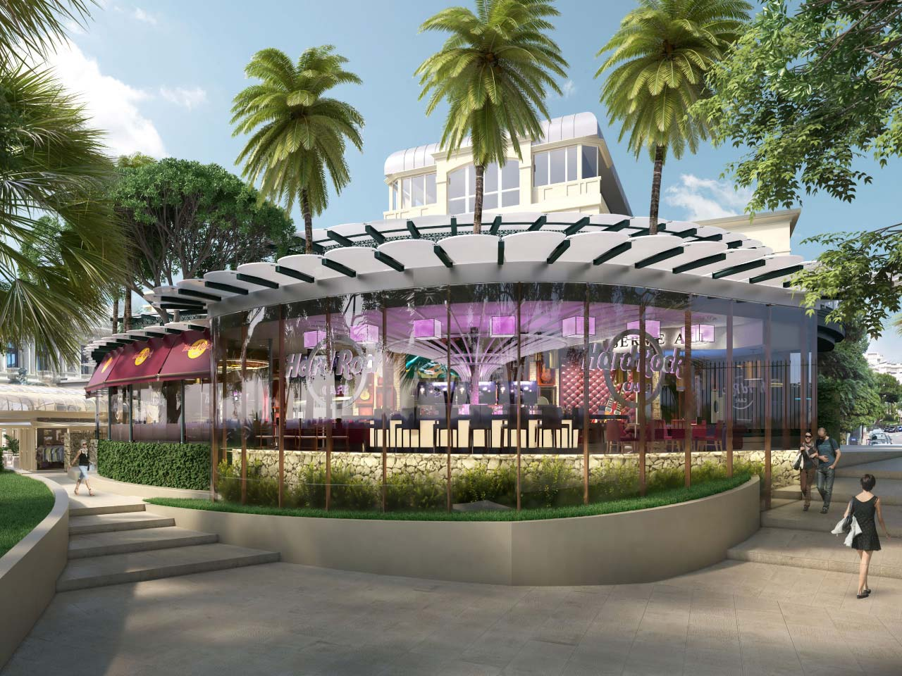 hard rock café monaco project