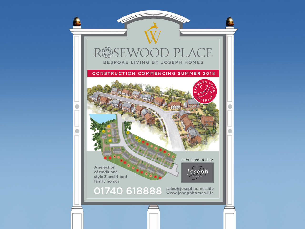 Rosewood Place site signage