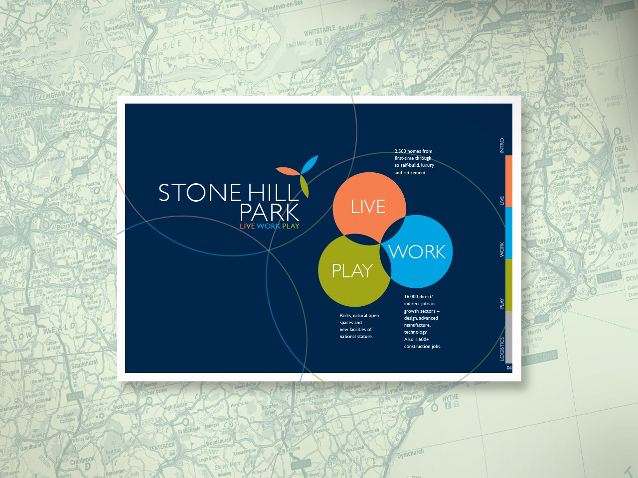 stone hill park identity and marketing project