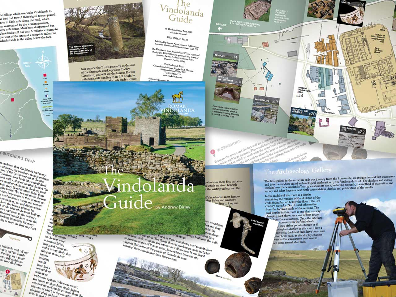 vindolanda literature design and artwork