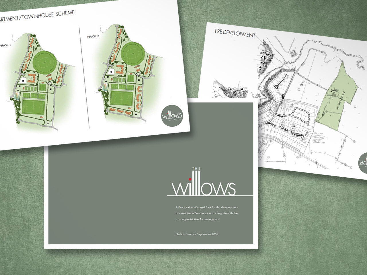 proposal visuals for The Willows